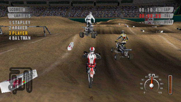 MX vs. ATV: On the Edge Screenshot 1