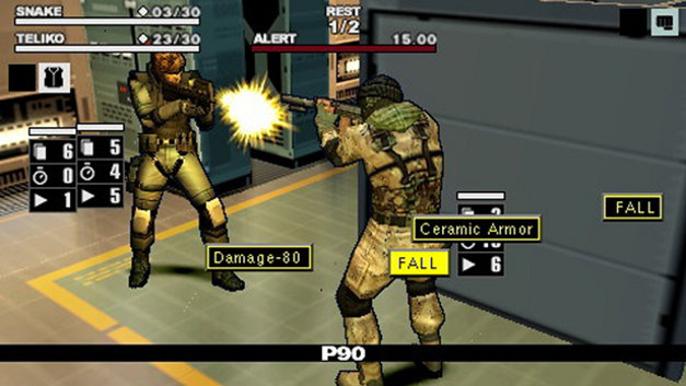 Metal Gear Acid 2 Screenshot 7