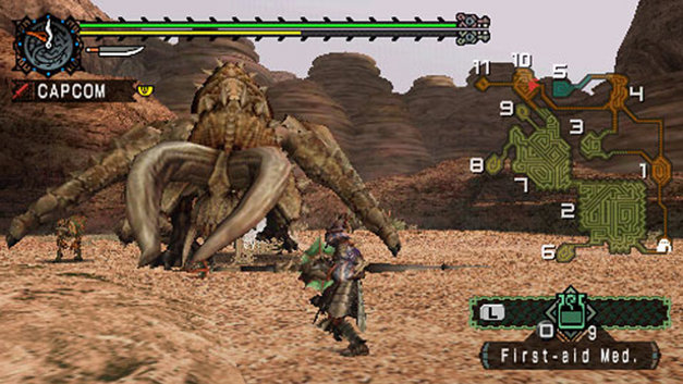 Monster Hunter Freedom Screenshot 1