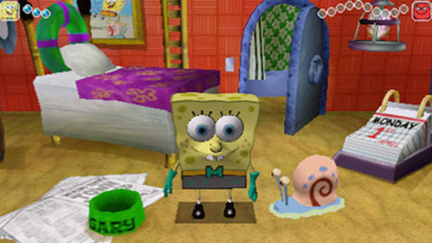 SpongeBob Squarepants: The Yellow Avenger Screenshot 1