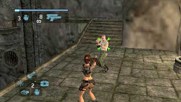 Tomb Raider Legend Game Psp Playstation