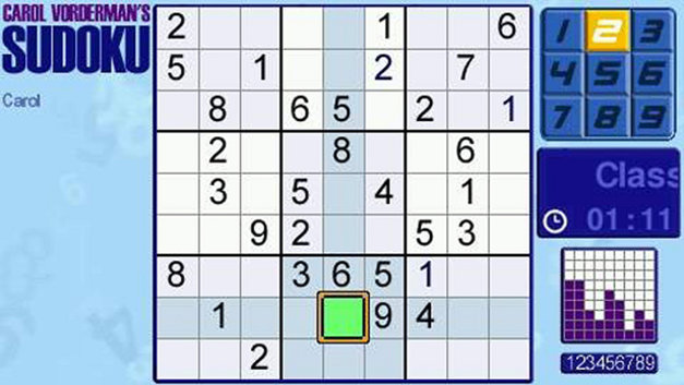 Carol Vorderman's Sudoku Screenshot 4