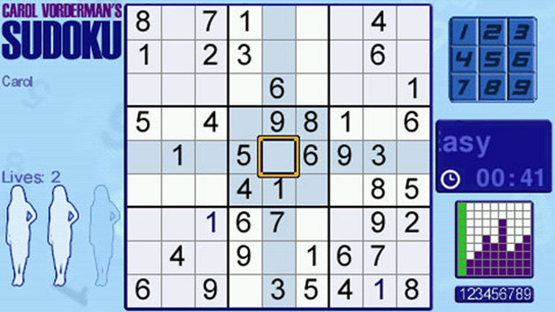 Carol Vorderman's Sudoku Screenshot 7