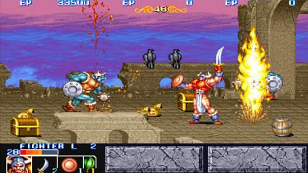 Capcom Classics Collection Reloaded Screenshot 1