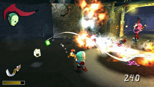 Death Jr.II: Root of Evil Screenshot 2