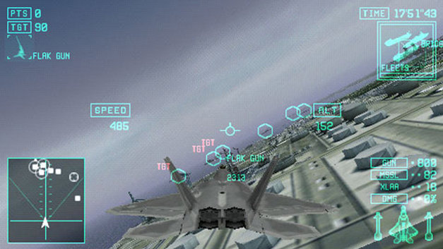 Ace Combat® X: Skies of Deception Screenshot 1
