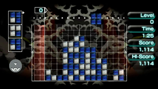 Lumines II Screenshot 1