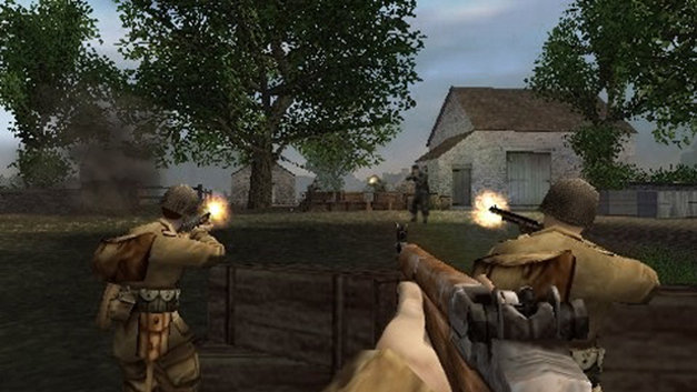 Brothers In Arms D Day Game Psp Playstation