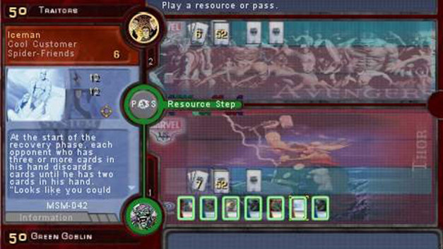 Marvel Trading Card Game Screenshot 4