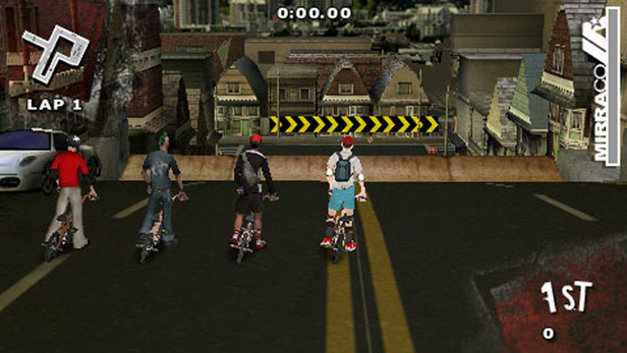 Dave Mirra BMX Challenge Screenshot 1