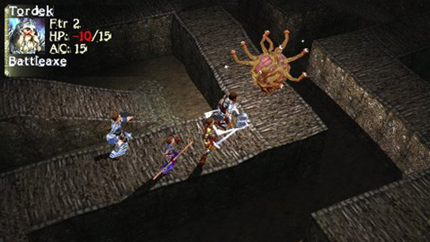Dungeons  &  Dragons® Tactics Screenshot 1