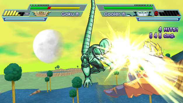 Dragon Ball Z: Shin Budokai - Another Road Screenshot 1