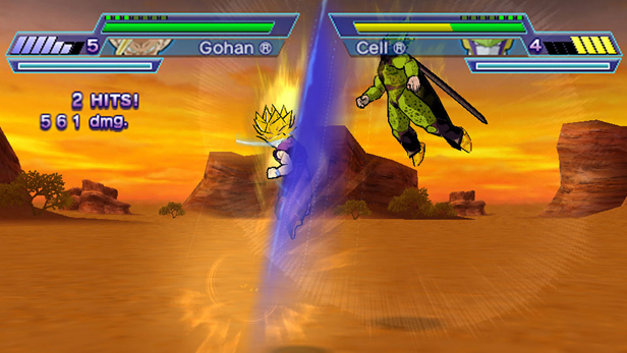 Dragon Ball Z: Shin Budokai - Another Road Screenshot 4