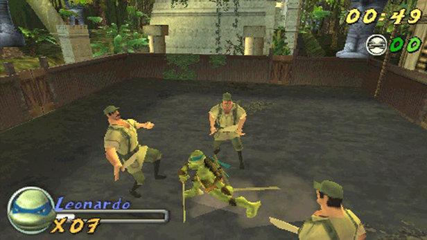 tmnt 2007 movie game