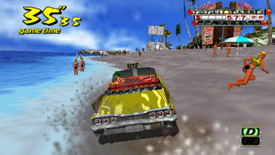 Crazy Taxi™: Fare Wars Screenshot 2