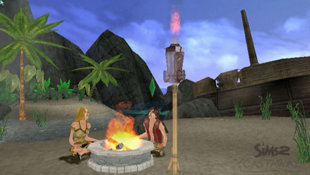 The Sims 2: Castaway Screenshot 2