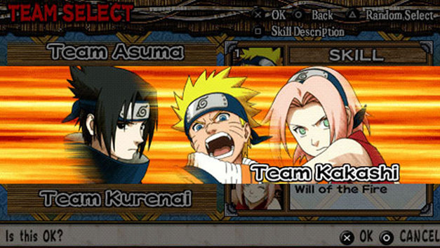 Naruto: Ultimate Ninja Heroes Screenshot 1