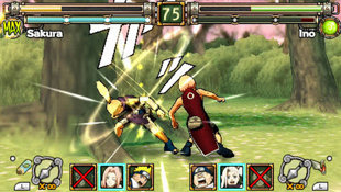 Naruto: Ultimate Ninja Heroes Screenshot 3
