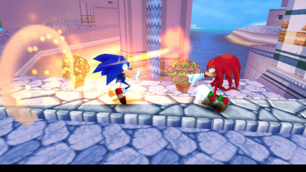 Sonic Rivals 2 Screenshot 1