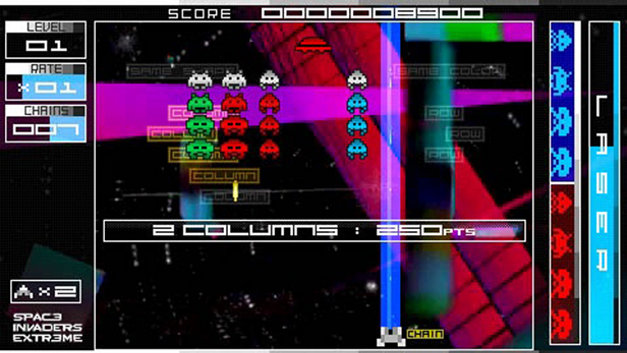 Space Invaders Extreme Screenshot 1
