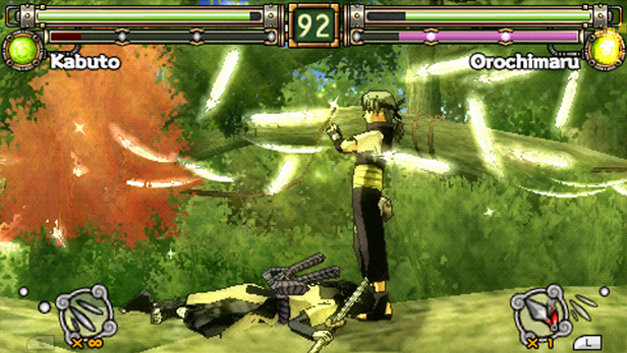 Naruto™: Ultimate Ninja® Heroes 2: The Phantom Fortress Screenshot 1
