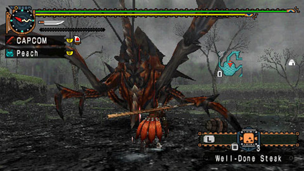 Monster Hunter Freedom Unite Screenshot 4
