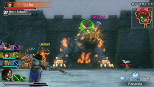 Dynasty Warriors®: Strikeforce Screenshot 2