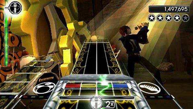 Rock Band Unplugged™ Screenshot 1