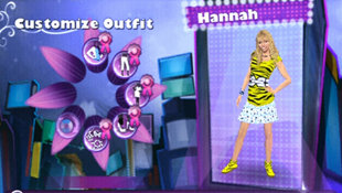 Hannah Montana: Rock Out the Show Screenshot 2