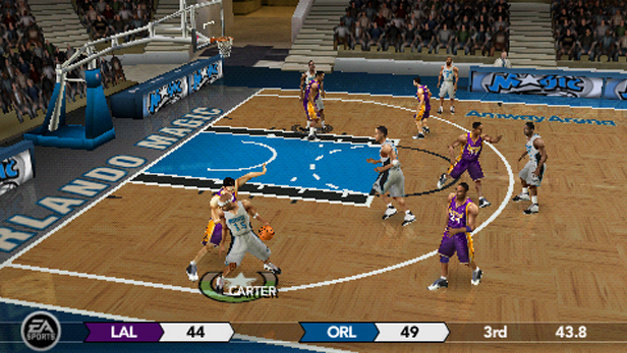 NBA LIVE 10™ Screenshot 1