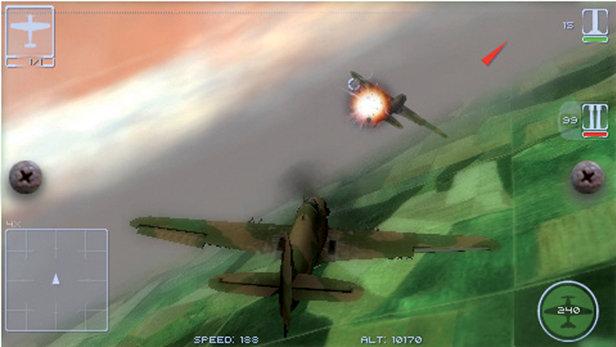 Il 2 Sturmovik Birds Of Prey Game Psp Playstation