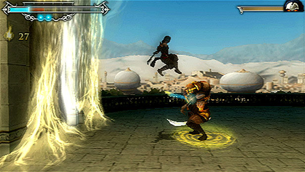 Prince of persia: the forgotten sands gameplay psp youtube.