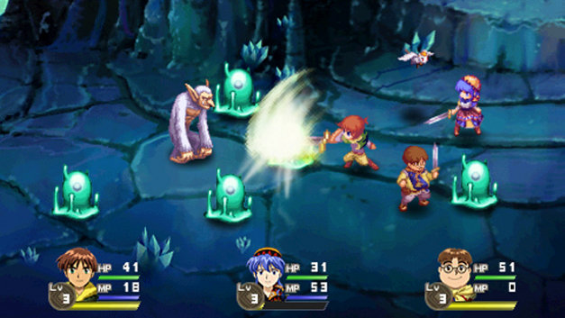 Lunar: Silver Star Harmony Screenshot 4