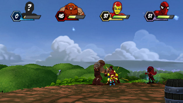 Marvel Super Hero Squad Screenshot 1