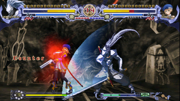 BlazBlue: Calamity Trigger Portable Screenshot 1