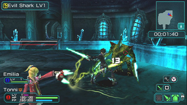 Phantasy Star™ Portable 2 Screenshot 4