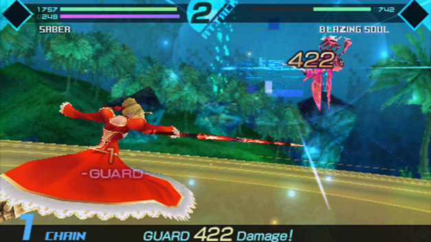 Fate/EXTRA Screenshot 4