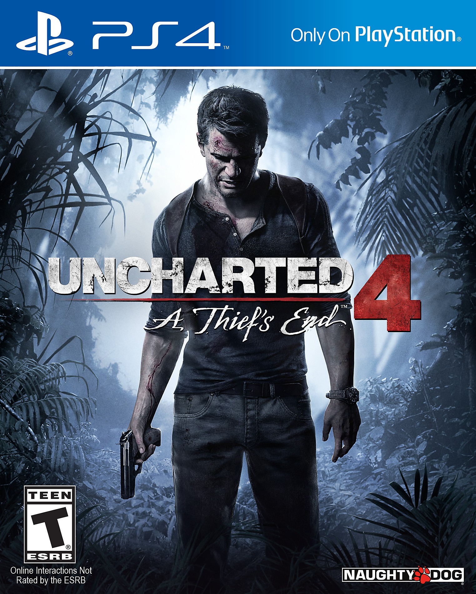 UNCHARTED 4: A Thief's End - PS4 Pro