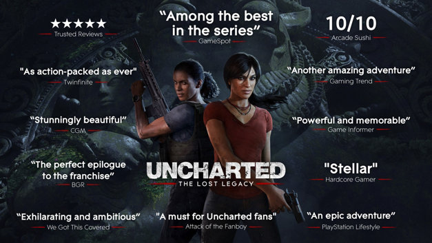 UNCHARTED: The Lost Legacy Accolades