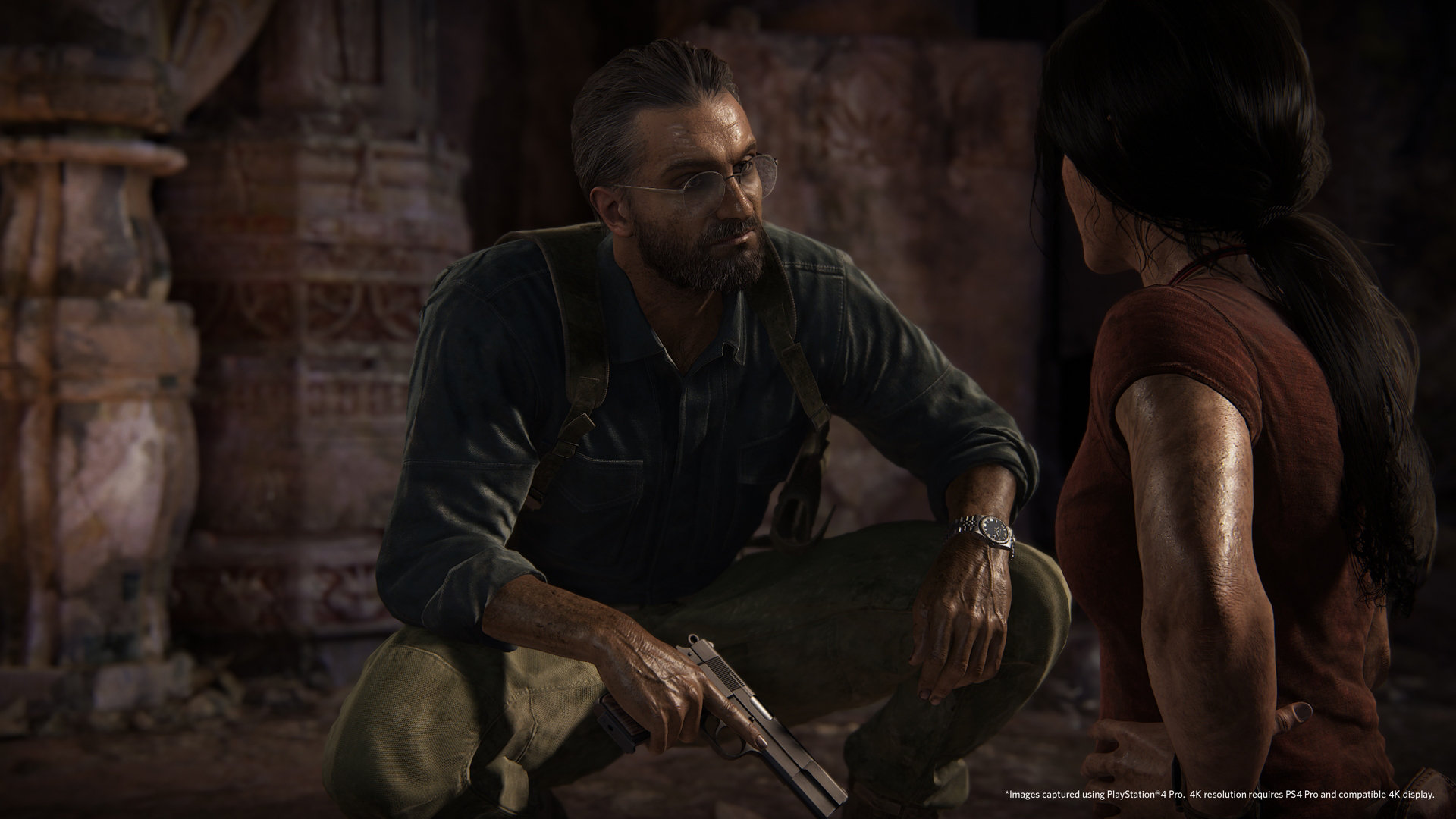 Uncharted The Lost Legacy Game Ps4 Playstation