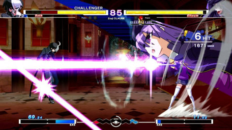 Under Night In-Birth Exe:Late Trailer Screenshot