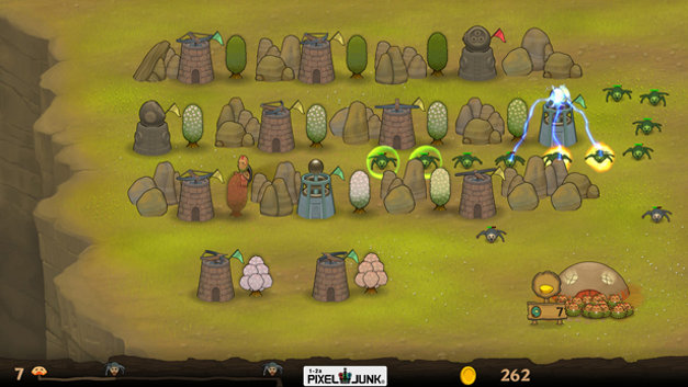 PixelJunk™ Monsters Screenshot 1