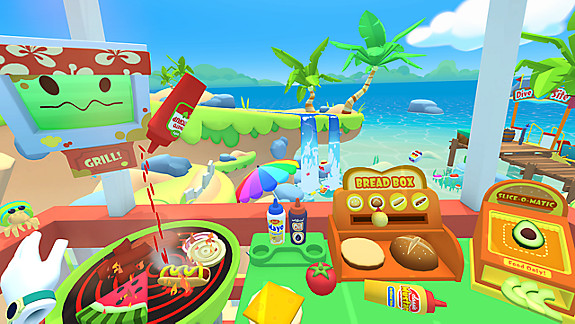Vacation Simulator - Screenshot INDEX