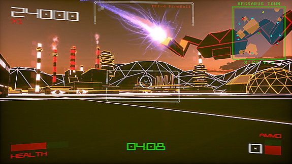 Vektor Wars - Screenshot INDEX