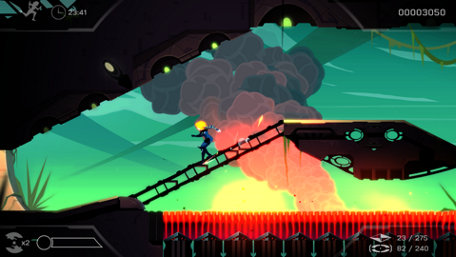 Velocity 2X | PS Vita Trailer Screenshot