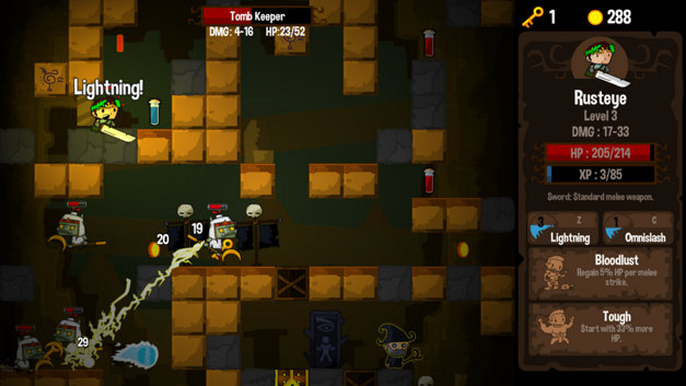 Vertical Drop Heroes HD Screenshot 7