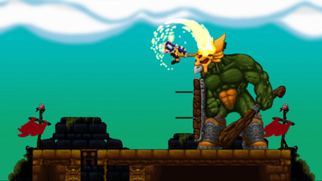 Volgarr the Viking Trailer Screenshot