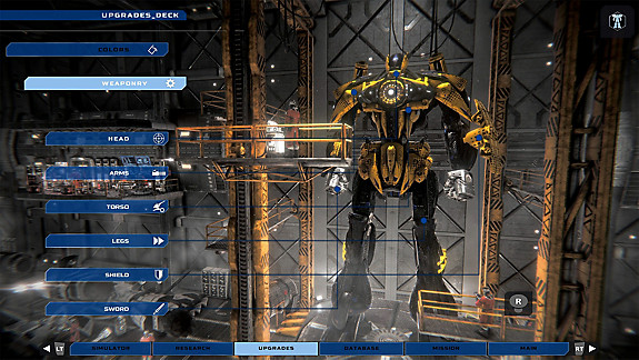 War Tech Fighters - Screenshot INDEX