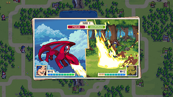 Wargroove - Screenshot INDEX
