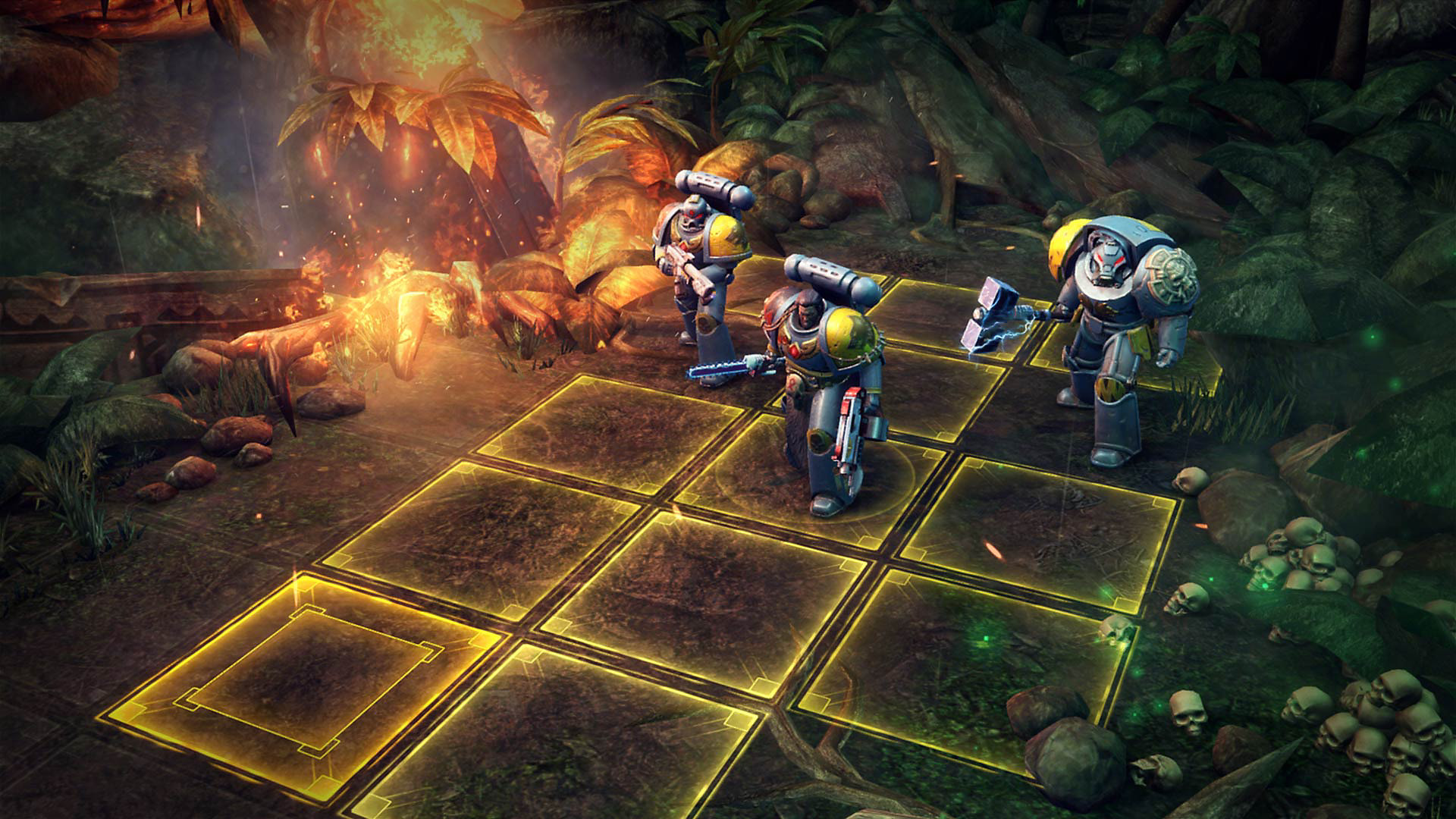 Gameplay de Warhammer 40,000: Space Wolf